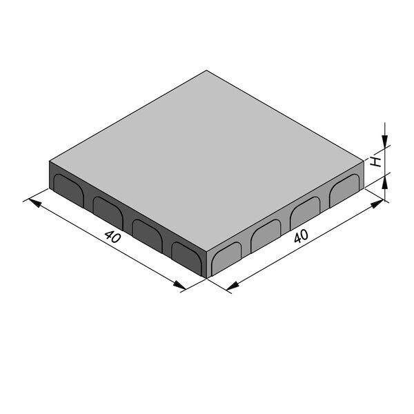 Product image for Tegel 40x40 cm Vlak
