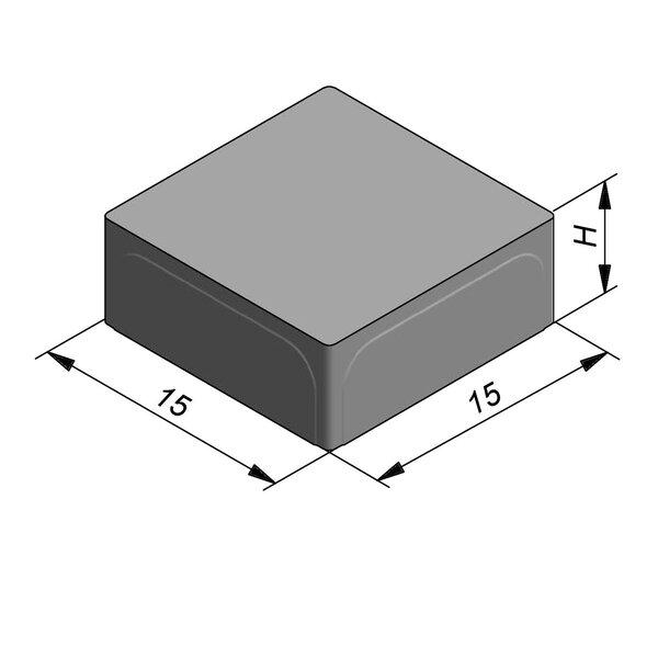 Product image for Betonstraatstenen 15x15 cm Vlak