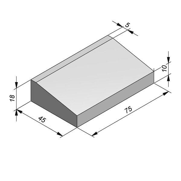 Product image for Inritbanden 18x45 cm 8/40 cm type Antwerpen midden