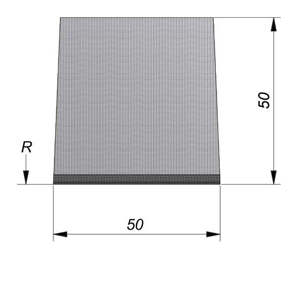 Product image for Streetline Inritbanden Bocht 20x50 cm 2/2 cm midden