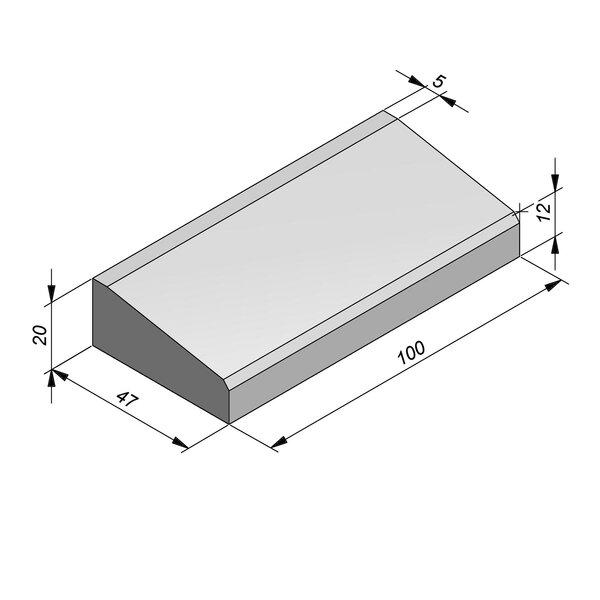 Product image for Inritbanden 20x47 cm 8/42 cm type Vilvoorde midden