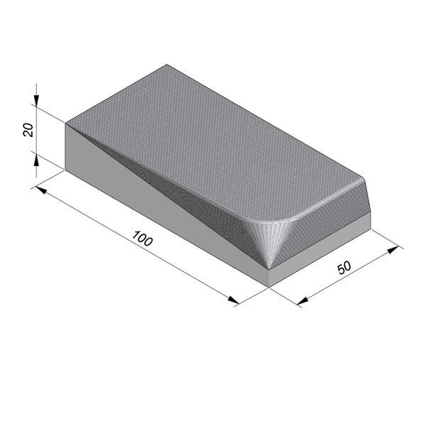 Product image for Streetline Inritbanden Rechte 20x100 cm STIB 12,5/3 cm rechts