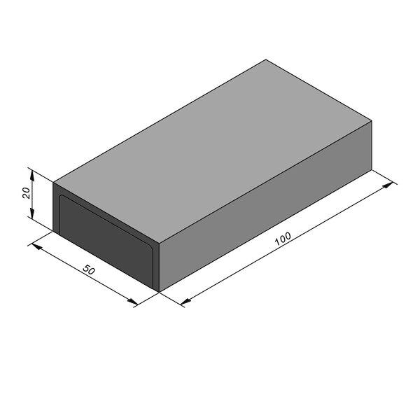 Product image for Kantstrook 20x50 cm IIA1