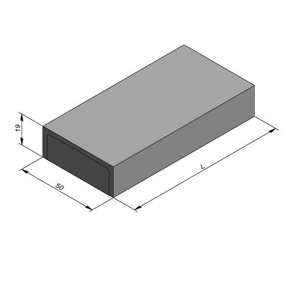 Product image for Kantstrook 19x50 cm