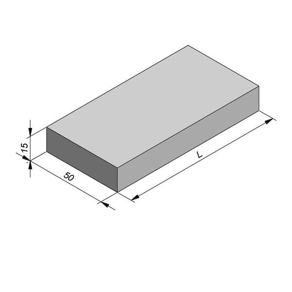 Product image for Kantstrook 15x50 cm