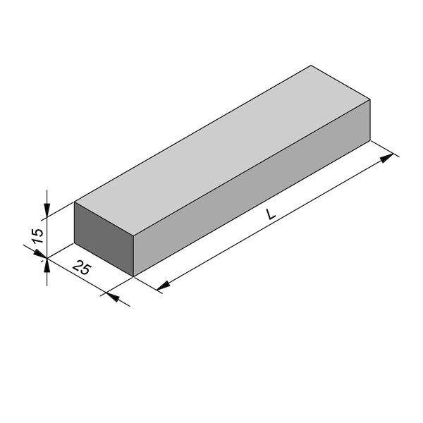 Product image for Kantstrook 15x25 cm