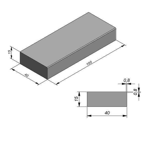 Product image for Mega-escalier 15x40 0,8/0,8