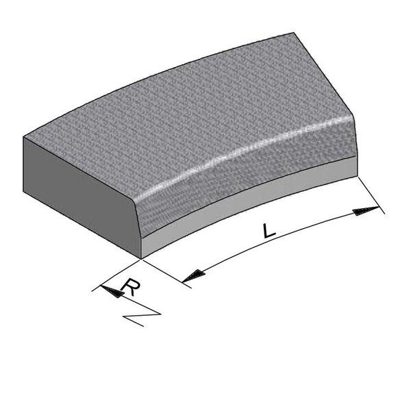 Product image for Streetline Bocht 20x50 cm STIB 12,5/3 cm