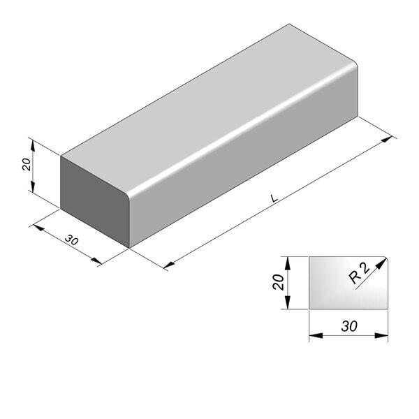 Product image for Escaliers 20x30 cm R2 cm