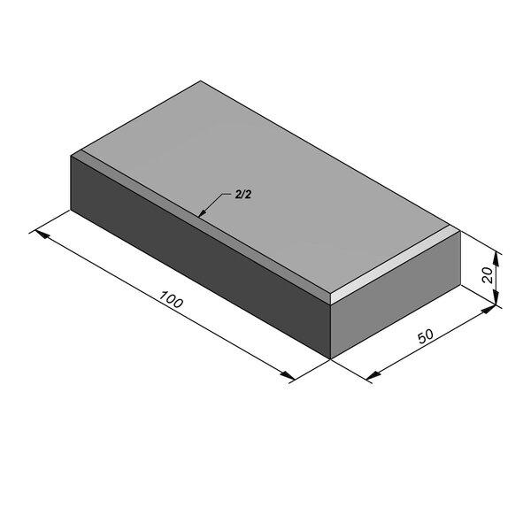 Product image for Megategel 100x50 cm 20/20 mm