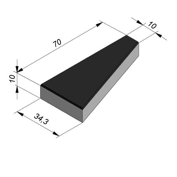 Product image for Marquage routier Dents de requin 70x34,3 cm gauche