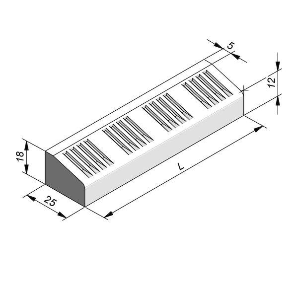 Product image for Bordure d'îlot 18x25 cm
