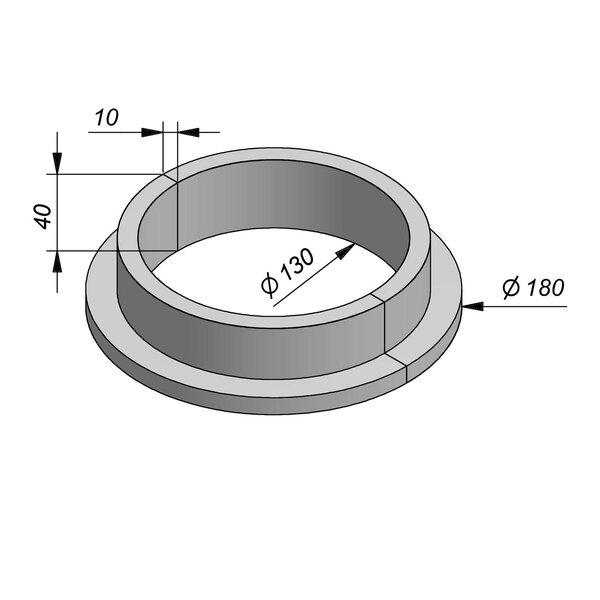 Product image for Boomrand Diam 180/130 type Brabant