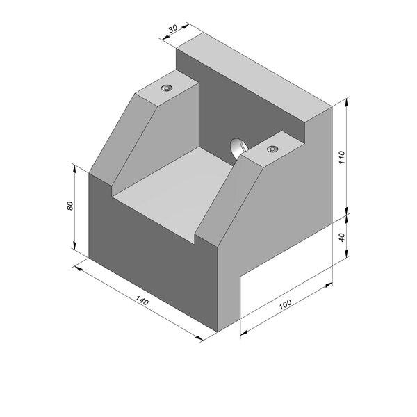 Product image for uitstroombakken - taludgreppels type TB01