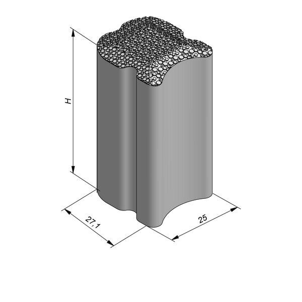 Product image for Hydroblokken 27,1 x 25 eco-top deklaag