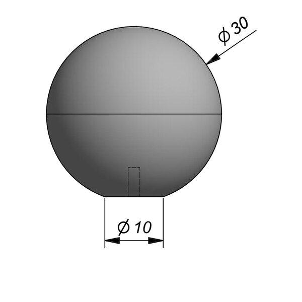 Product image for Objects Sphère décoratif Sphere Diam. 30 cmx30 cm (H)