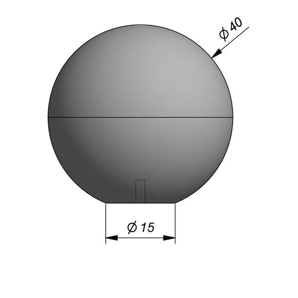 Product image for Objects Sphère décoratif Sphere Diam. 40 cmx40 cm (H)