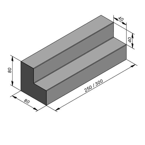 Product image for Objects Classe de théâtre Droit 80x80 cm (Lxl)x80 cm (H)