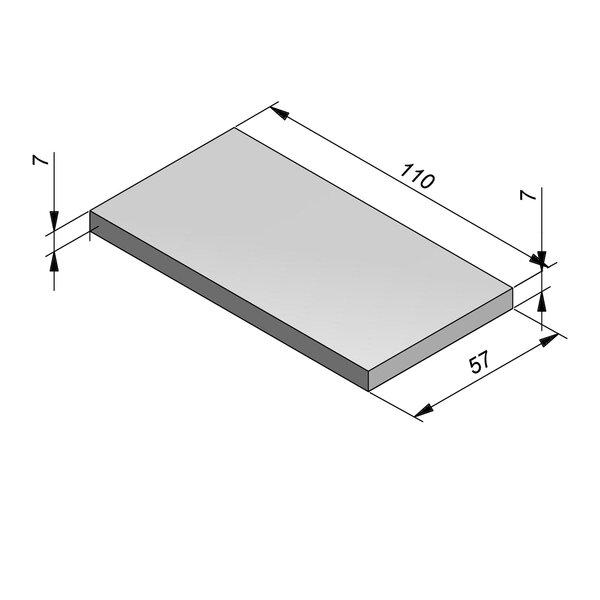 Product image for Standaard   57x7x110 cm voor greppel 20x60/14/14