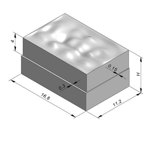 Product image for Betonstraatstenen Cliffstone   Gekliefd Paving 16,8x11,2 cm Vlak